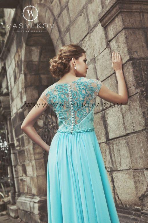 Вечернее платье Vasylkov blue